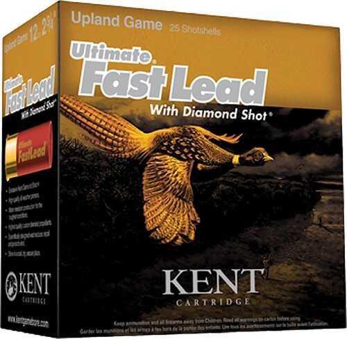 "Kent Cartridges Kent Cartridge Ultimate FastLead Upland 12Ga 2.75"" 7 shot 1-1/4oz 250 Rounds Ammunition 1350 FPS K122UFL36"