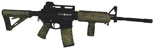 Matrix Diversified Industries MDI Magpul Milspec AR-15 Furniture Kit A-TACS Camo MAGMIL24FG