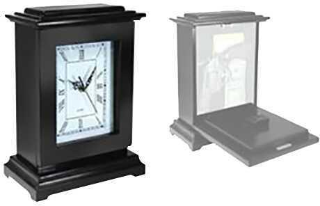 PS Products Inc./Sprtmn CH PSP Concealment Rectangle Clock 13x9x6 Wood Black RGCBLK