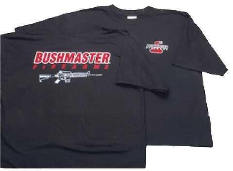 Bushmaster Firearms Bushmaster AR-15 Schematic T-Shirt Short Sleeve X-Large Cotton Black