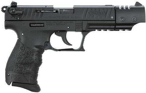 "Walther Arms P22 22 Long Rifle 5"" Barrel  Three Dot Combat Sights  10 Round   Black  Target  Semi Automatic Pistol 5120334"