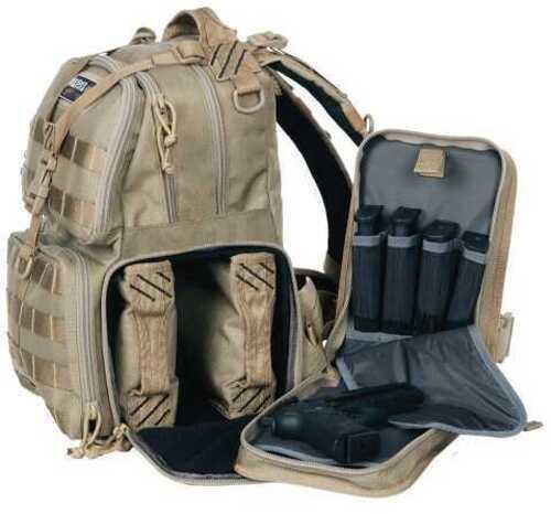 G Outdoors Inc. Goutdoor Tact Range BP Tan 1000D Nylon w/Teflon Coating T1612BPT