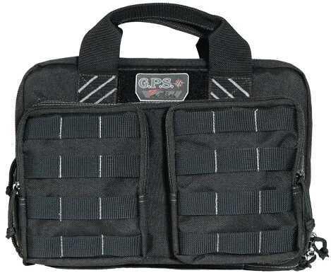 G Outdoors Inc. G*OUTDOORS INC G Outdoors Tactical Quad Case Black1000D Nylon T1311PCB