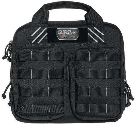 G Outdoors Inc. G*Outdoors Tactical Double Case Black 1000D Nylon w/Teflon Coating T1412PCB