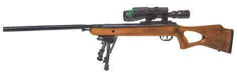 Benjamin Sheridan Benjamin Titan Air Rifle Break Open .22 Wood Thumbhole Stock Black BT9M22WNPNHG