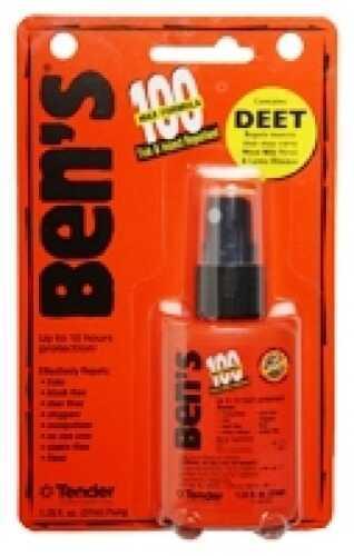 Ben's / Tender Corp Adventure Medical KITS Bens 100 Max Tick/Insect Repellent 1.25oz Orange 00067070