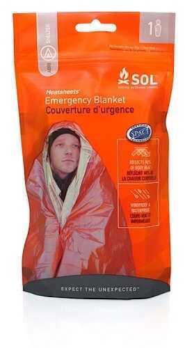Adventure Medical Kits / Tender Corp Adventure Medical Kits Emergency Blanket One Person Orange 01401222