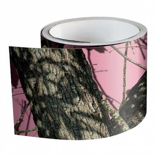 "MOSSYOAK GRAPHICS(VANTAGE Mossy Oak Graphics Camo Tape 6""x7'' Vinyl MOBU Pink 140037BUP"