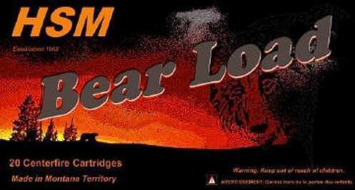 HSM / Hunting Shack Inc HSM/Hunting Shack Inc HSM Bear 460 S&W WFN 325 GR (Per 20) HSM460SW4N