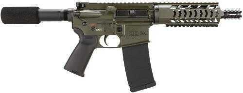 "Diamondback Firearms DB15 Pistol 5.56mm 7.5"" Barrel OD Green Finish 30 Round Mag Semi Automatic DB15PODG7"