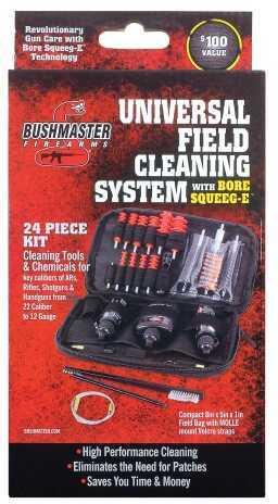 Bushmaster Firearms Bushmaster Squeeg-E Clean Kit Field 2 22Cal - 12ga 93604