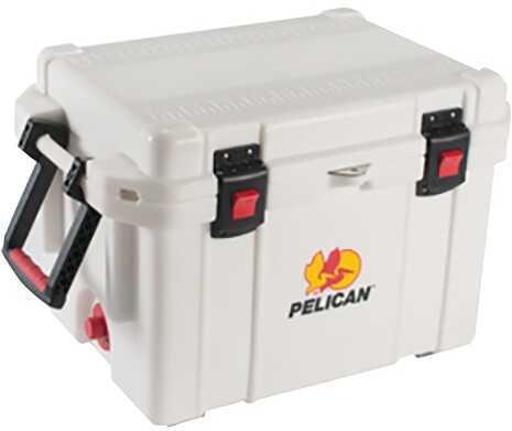 Pelican ProGear Cooler 95QT Elite Sloped Drain Fish Scale White 95QTWHT