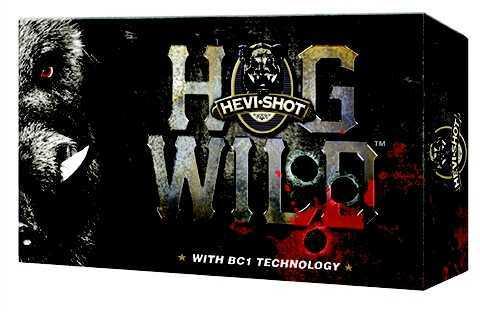 """Hevi-Shot Hog Wild 12 Gauge 3"""" 2 Ball .625 Magnum Ball 5 Shells Per Box 90002"""