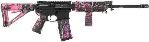 "Windham Weaponry SRC 223 Remington /5.56mm NATO 16"" 30+1 Rounds Muddy Girl MOE/Black Semi Automatic Rifle R16M4FTTMG"