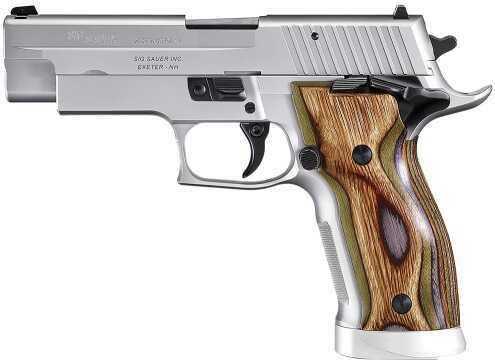 "Sig Sauer P226 9mm Luger Short/Smart 4.4"" Barrel 19 Round Beechwood Laminate Stainless Steel Semi Automatic Pistol 226X59SHORTS"