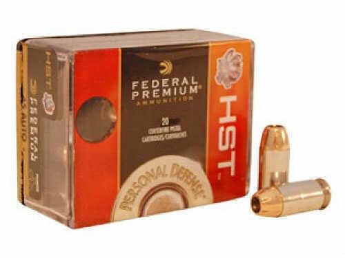 Federal Cartridge Federal Premium Personal Defense 45 ACP HST JHP 230GR 20Box/25Cse P45HST2S