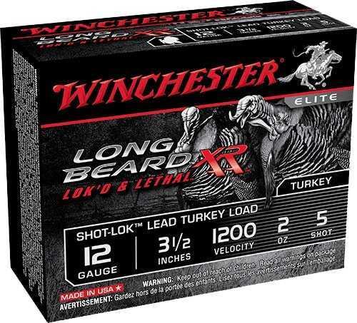 """Winchester Ammo WIN LNG BEARD XR 12GA 3.5"""" 2OZ10BX STLB12L5"""
