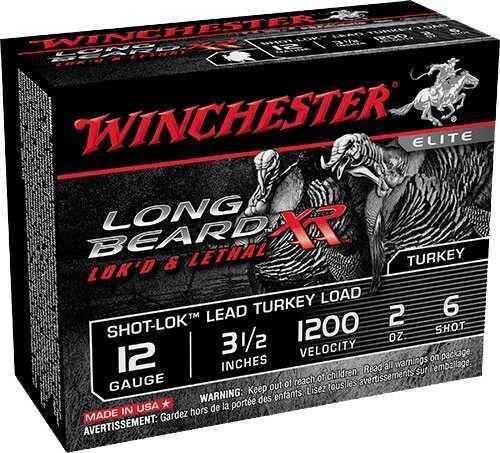 """Winchester LNG BEARD XR 12GA 3.5"""" 2OZ10BX STLB12L6"""
