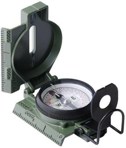 Cammenga Phosphorescent Lensatic Military Compass (Bulk) Olive Drab 27