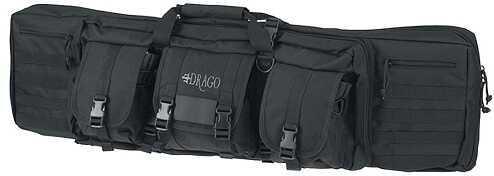 "Drago Gear Tactical Double Gun Case 42"" 600D Polyester Black 12-323BL 12323BL"