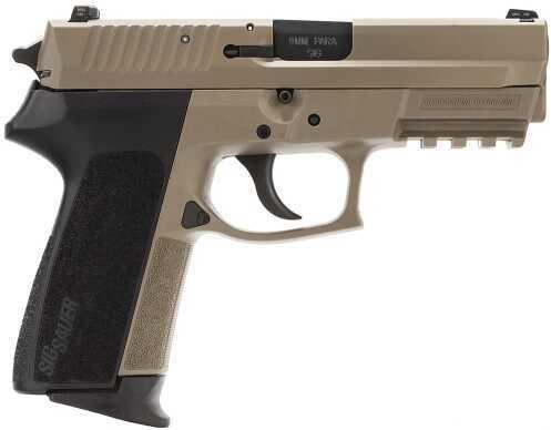 "Sig Sauer SP2022 Flat Dark Earth 9mm Luger 3.9"" Barrel 15 Round Black Polymer Grips Flat Dark Earth Semi Automatic Pistol E2022Flat Dark Earth BLKG"