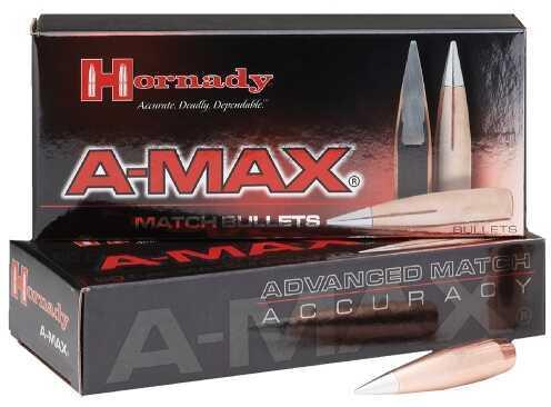 Hornady A-Max 338 Cal (.338) 285 GR 50 Per Box 3338