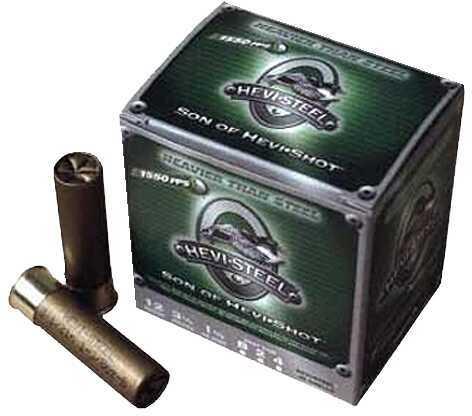 "Hevi-Shot HeviShot 60003 Hevi-Steel 12 Gauge 3"" 3 Shot 25 Box/10 Case"