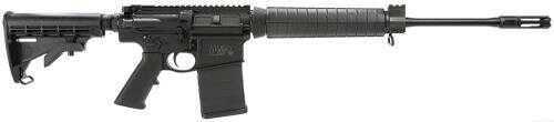 "Smith & Wesson M&P 10 AR-10 308 Winchester/7.62x51mm NATO 18"" Barrel Mid-Length Short Action 20+1 Rounds 6 Positon CAR Stock Black Semi - Auto Rifle 811308"