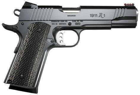 "Pistol Remington 1911 R1 Enhanced 9mm Luger 5"" 9+1 FOF Black Laminate Grip Black 96364"