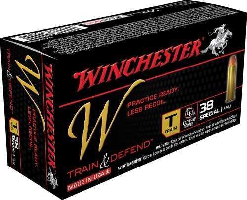 Winchester TRAIN 38SPL 130GR RL FMJ 50BX W38SPLT