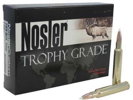 Nosler Trophy Grade 26 Accubond 140 Gr 20 Rounds Per Box 60014