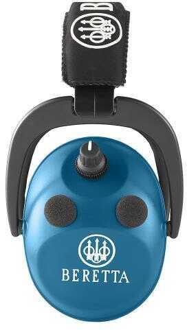 Beretta Hearing Protection Electronic Earmuff Aft 26 Db Blue Cf2100020560