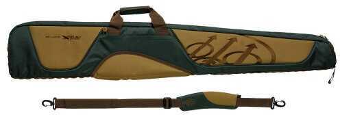 "Beretta Xplor Shotgun Case 51""x3""x8"" Polyester/Leather Black/Tan FO1201890730"