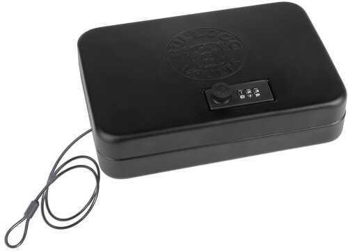 "Bulldog Cases Bulldog Personal Vault 9.5"" x 6.5"" x 2"" Black BD1125"