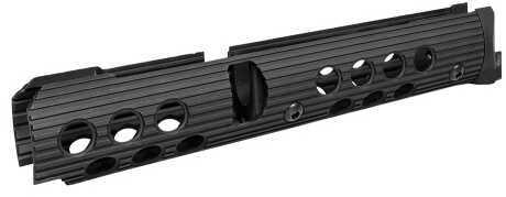 "Troy Industries Troy AK47 Extended Handguard Rail Set 5"" Top 10"" Bottom Alum Black SRAIAK1S0BT0"