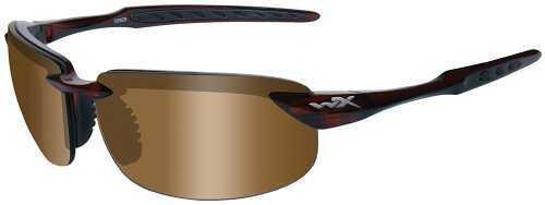 Wiley X Inc. Wiley X Eyewear Tobi Safety Glasses Bronze/Brown Crystal Frame ACTOB02