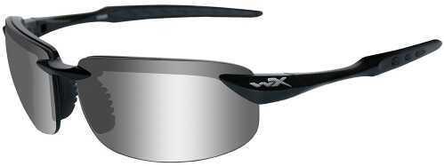 Wiley X Inc. Wiley X Eyewear Tobi Safety Glasses Polished Silver/Gloss Black ACTOB04