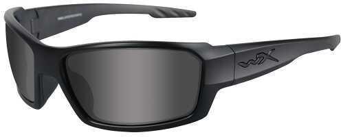 Wiley X Inc. Wiley X Eyewear Rebel Safety Glasses Smoke Grey/Matte Black ACREB01