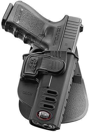 Fobus CH Rapid Release Roto Paddle Glock Black Plastic Left Handed GLCHRPL