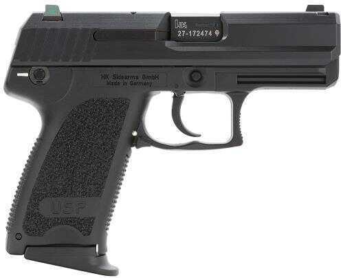 "Pistol Heckler & Koch HK USP9C Compact V1 3Mags DA/SA 9mm Luger 3.6"" 13+1 Polymer Grip Black 709031LEA5"