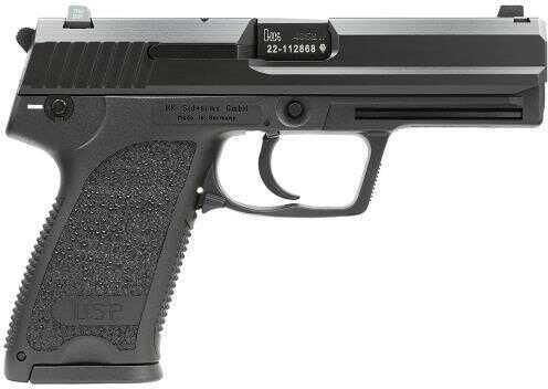 "Heckler & Koch HK USP40 Standard V1 3Mags DA/SA 40 S&W 4.3"" 13+1 Synthetic Grip Black Semi Automatic Pistol704001LEA5"