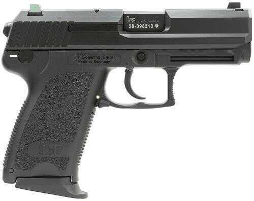 "Heckler & Koch Pistol HK USP45C Compact LEM V7 with3 Mags DAO 45 ACP 5.8"" Barrel 8+1 Rounds Intergral Grip Black"