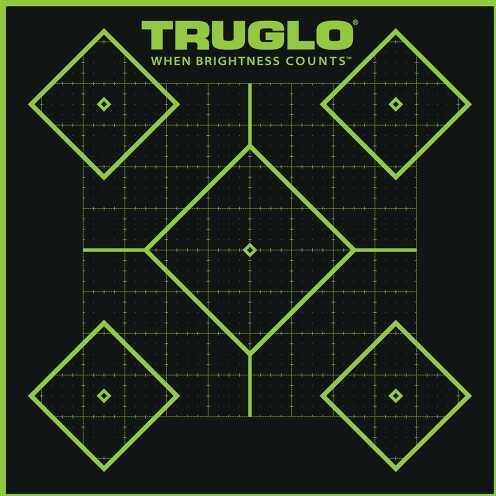 """Truglo Tru-See Splatter Targets 12""""x18"""" (Per 6) TG14A6"""