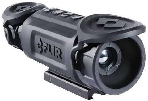 FLIR Systems Flir Commercial Systems FLIR 43100070200 ThermoSight R-Series 1.25-5x19mm Black Dplx/Fine Dplx/German RS32