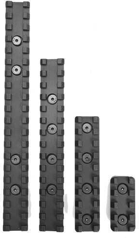 "Samson Manufacturing Corp. Samson Evolution Rail Kit 4"" (1 Rail) 4"" 6061-T6 Anodized Alum Black EVO-4-KIT"
