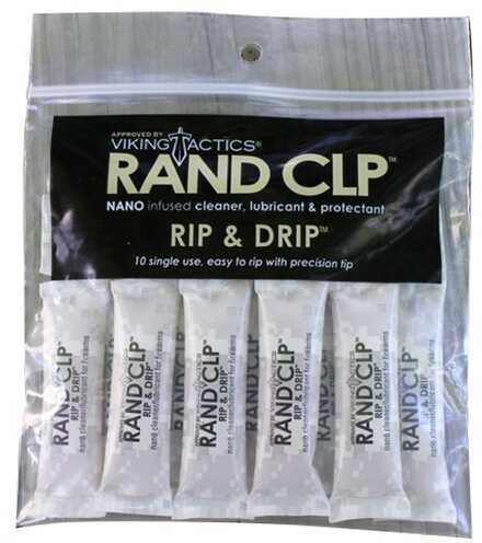 RAND CLP Rip&Drip Single Packets Clean/Lubricate/Protect 3.5 ml 10 Pk RIP10PK