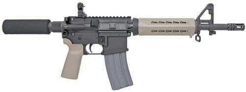"Sig Sauer Sig E PM400 AR Pistol SA 5.56 NATO 11.5"" 30+1 Flat Dark Earth Grip/Keymod HG Black PM40011BB5FD"