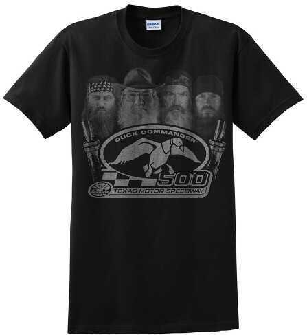 Duck Commander Big 4 T-Shirt Short Sleeve Black Large Cotton 10Pk DS500B4L01