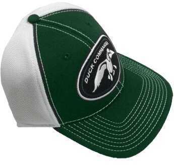 Duck Commander Logo Green/White Mesh One Size Cotton/Poly 10Pk DHGWM