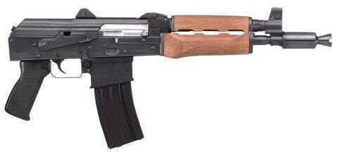 "Century Arms CIA Zastava 223 Remington /5.56mm NATO 10.25"" Barrel 30+1 Rounds Black Synthetic Stock PG Blued Finish Semi Automatic Pistol HG3237N PAP M85 NP"